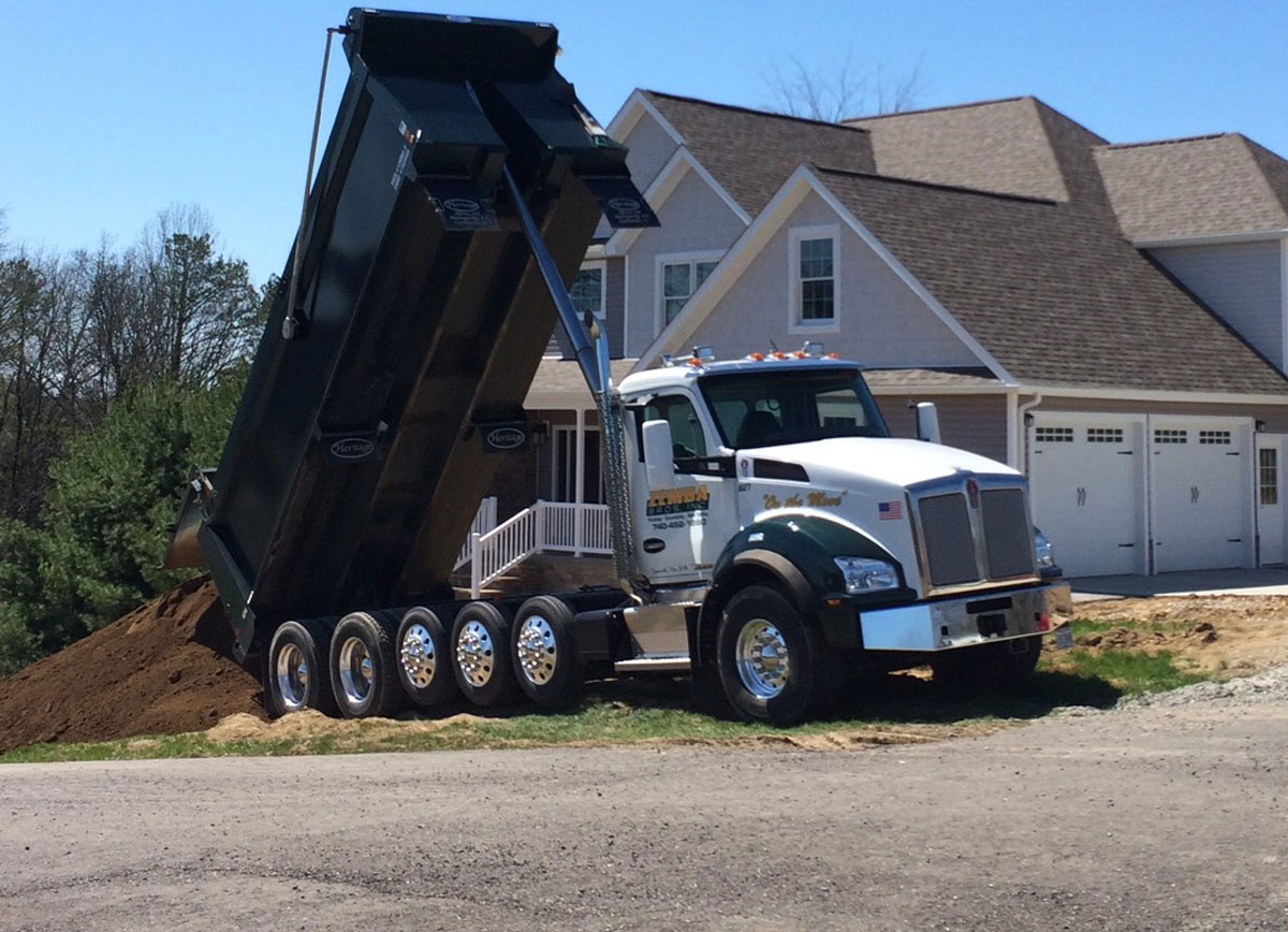 Zemba Bros Trucking Hauling Materials Sand Top Soil Rock Stone Dirt